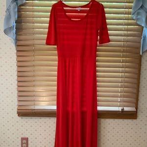 LuLaRoe Dresses - LuLaRoe Ana Maxi Dress